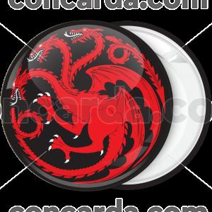 Κονκάρδα Game of Thrones Targaryen Dragon