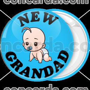 Κονκάρδα new grandad baby μπλε