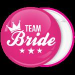 Kονκάρδα Team Bride κορώνα αστέρια ροζ