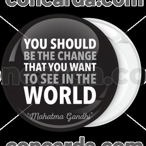 Μαύρη Κονκάρδα Gandhi Quotes