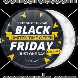 Κονκάρδα Black Friday triangles