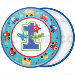 Κονκάρδα 1st Birthday cars toys plane