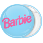 Κονκάρδα Barbie logo γαλάζιο
