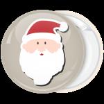 Κονκάρδα Χριστουγέννων Santa Head