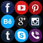 Σετ κονκάρδες social media