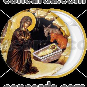 Κονκάρδα Η Γέννηση του Κυρίου Ιησού Χριστού χρυσό