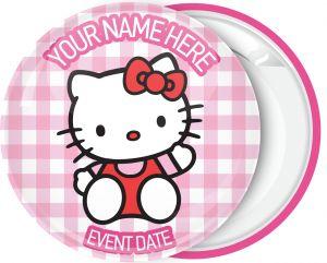 Κονκάρδα βάπτισης Hello Kitty greet