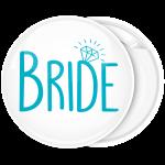 Kονκάρδα Bride διαμάντι τιρκουαζ