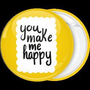 Κίτρινη Κονκάρδα You make me happy