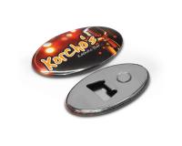 Κονκάρδες μαγνήτης ανοιχτήρι Οβάλ