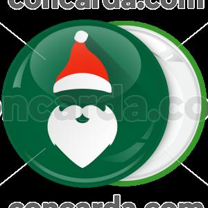 Πράσινη Κονκάρδα Χριστουγέννων Santa hat up