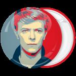 Κονκάρδα David Bowie κόκκινη πράσινη