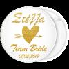 Kονκάρδα Team Bride Gold Glitter όνομα