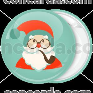 Κόκκινη Κονκάρδα Χριστουγέννων Santa smoke