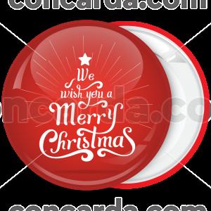 Κονκάρδα ευχές σε Χριστουγεννιάτικο δέντρο