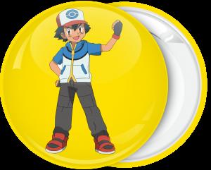 Κονκάρδα Pokemon Αsh κίτρινη