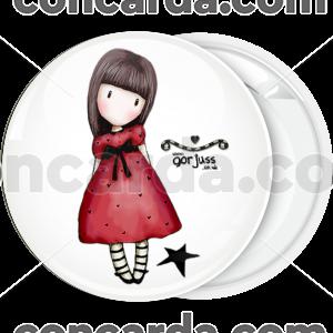 Κονκάρδα Santoro κόκκινο φόρεμα