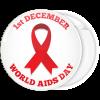 Κονκάρδα world Aids day λευκή