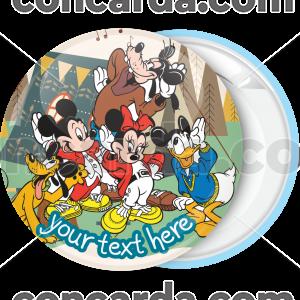 Κονκάρδα για party Mickey and friends