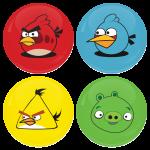 Σετ 4 κονκάρδες angry birds puzzle game
