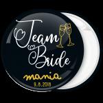 Kονκάρδα Team Bride vintage μαύρη