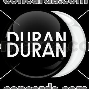 Κονκάρδα Duran Duran μαύρη