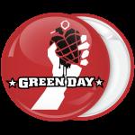 Ροκ Κονκάρδα Green Day κόκκινη