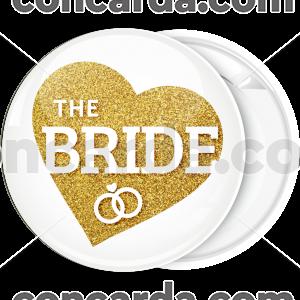 Kονκάρδα The Bride χρυσή καρδιά