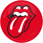 Κονκάρδα Rolling Stones mouth red