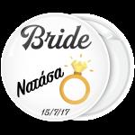 Kονκάρδα bachelorette The Bride Ring λευκή