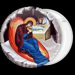 Κονκάρδα Η Γέννηση του Κυρίου γκρί
