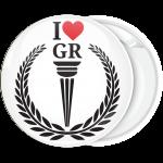Κονκάρδα Ι Love GR Ολυμπιακή Δάδα