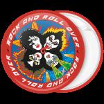 Κονκάρδα Kiss Rock and Roll Over κόκκινο