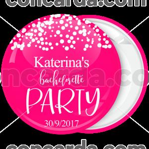 Kονκάρδα Bachelorette party Team λευκά πουά