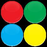 Κονκάρδα teams colours 4 τεμάχια