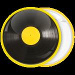 Κονκάρδα βινύλιο κίτρινο