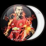 Αθλητική κονκάρδα Zlatan Ibrahimović face