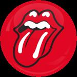 Κονκάρδα Rolling Stones mouth red