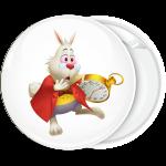 Κονκάρδα White Rabbit clock Αλίκη στη χώρα των θαυμάτων