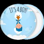 Κονκάρδα its a boy πελαργός στα σύννεφα