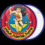 Κονκάρδα Wonder Woman μπλε