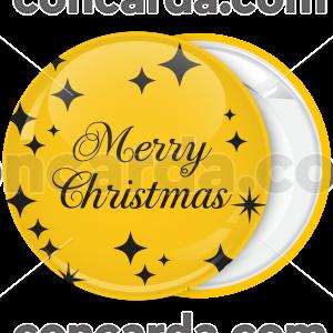 Κονκάρδα Χριστουγέννων Gold Merry Christmas