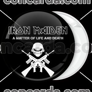 Κονκάρδα Iron Maiden A matter of life and death