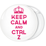 Κονκάρδα Keep calm and ctrl z