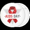 Κονκάρδα Aids Day red ribbon