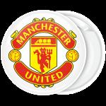 Κονκάρδα Manchester United λευκή