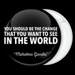 Μαύρη Κονκάρδα Gandhi Quotes Horizontal
