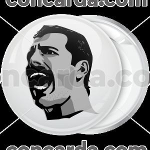Rock Κονκάρδα Freddie Mercury