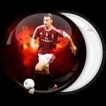 Αθλητική κονκάρδα Zlatan Ibrahimović