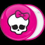 Κονκάρδα Monster High head logo φούξια
